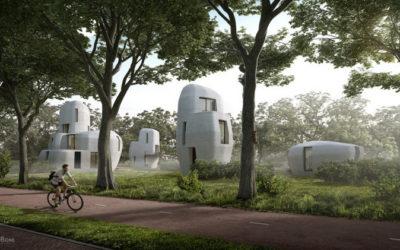 Eindhoven: 1° ciudad construida con impresión 3D de hormigón