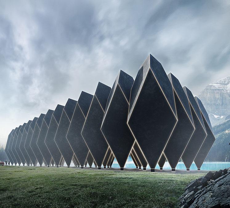 Tetra Hotel: El futuro llegó y es 100% de hormigón
